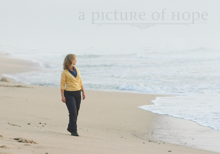 Suzette in Half Moon Bay, CA, 2002
