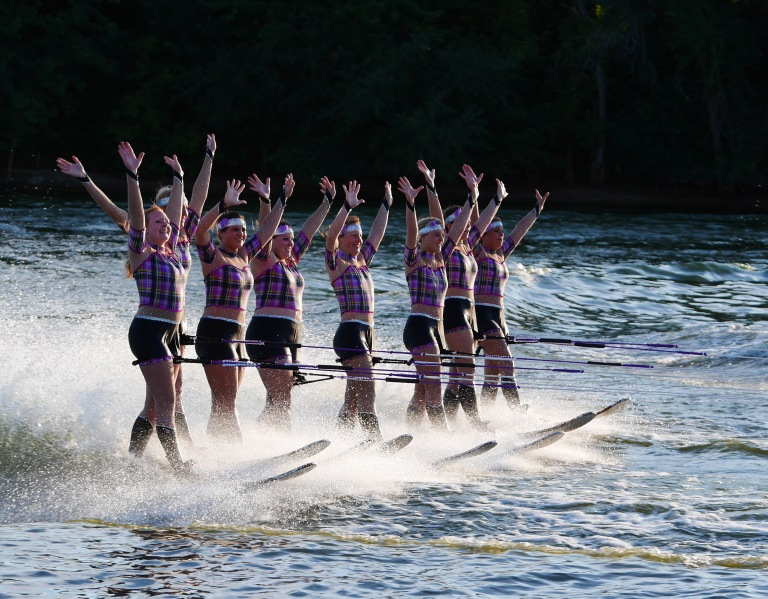 Waterski Feats with the GX7